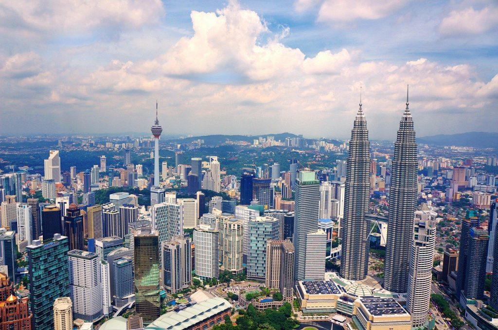 マレーシアクアラルンプール高層ビル