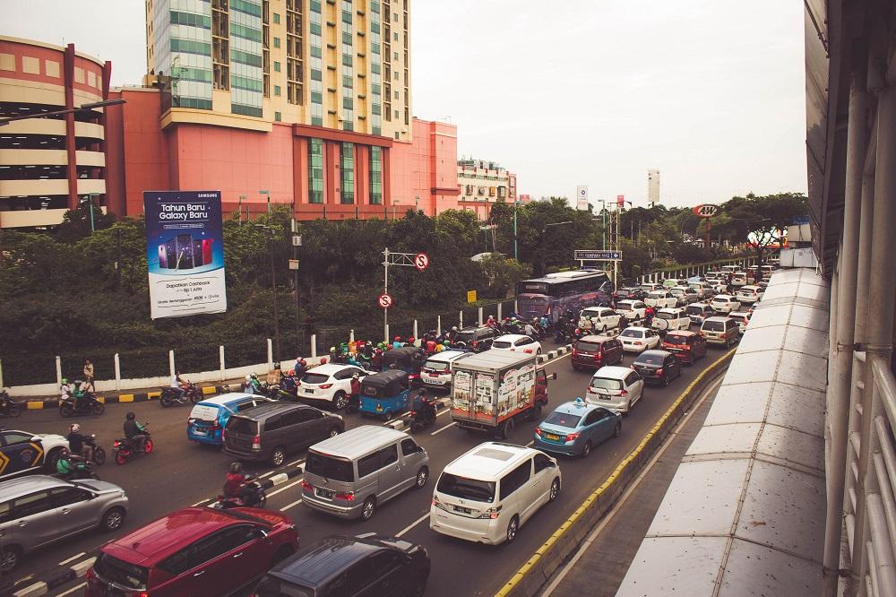 インドネシア首都ジャカルタは渋滞世界NO.10にランクインしています