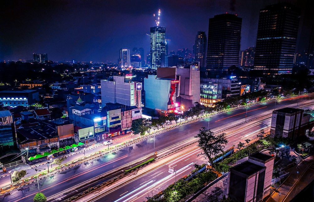 インドネシア首都ジャカルタ